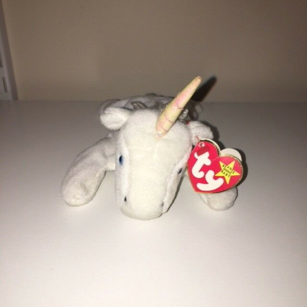 Ty Mystic Unicorn May 21 1994 Beanie Baby Plush Retired Toy