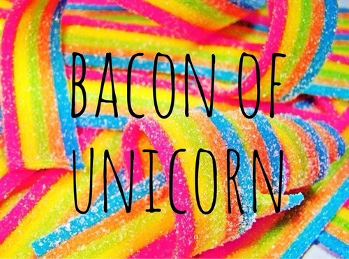 Unicorn Bacon Discovered By Magic On We Heart It