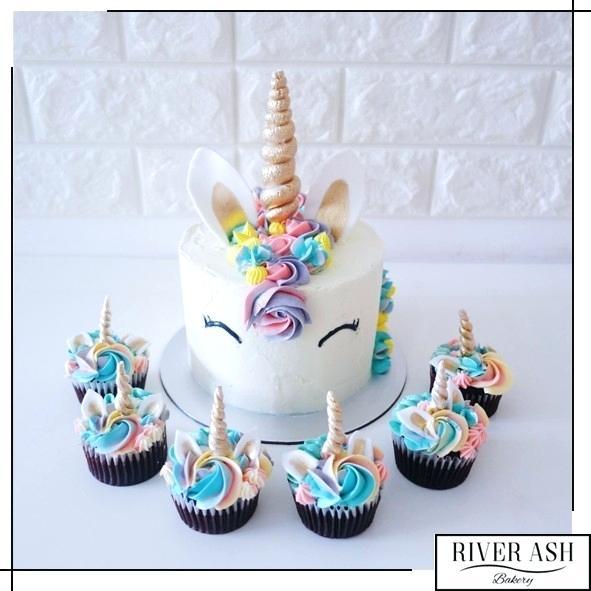 Unicorn Birthday Cake Ideas Images Sgapore
