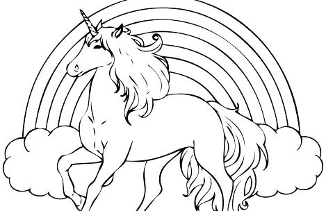 Unicorn Coloring Pages Modern For Girls Preschool In Fancy Page