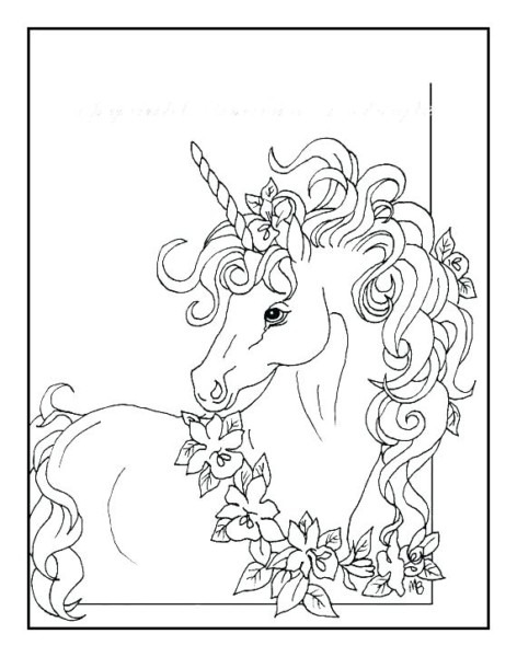Unicorn Coloring Pages Online Unicorn Coloring Pages For Kids Home