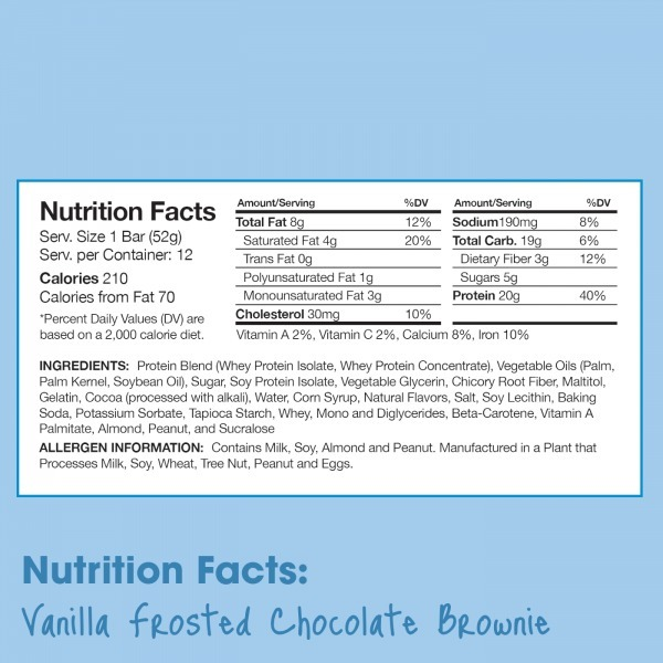 Unicorn Crunch Bar Vanilla Frosted Chocolate Brownie Reviews In
