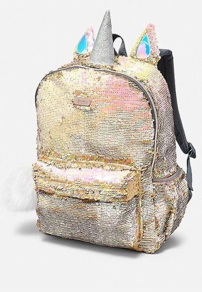 Unicorn Flip Sequin Backpack