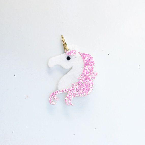 Unicorn Hair Clip    Unicorn Headband