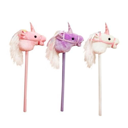 Unicorn Hobby Horse With Sounds