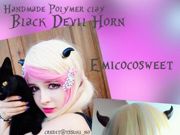 Unicorn Horn,devil Horn,pastel Goth,gothic Hair Clips,kawaii Hair
