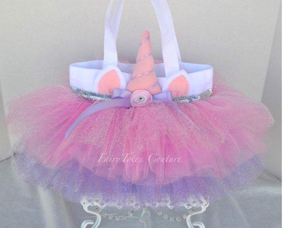 Unicorn Sparkle Tutu Tote Bag (medium Size)