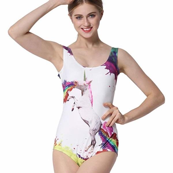 Unicorn Swimsuit Adults – Sztopfocus Women's One Piece Swimwear