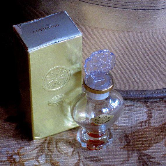 Vintage Avon  Cotillion  Cologne Perfume Bottle