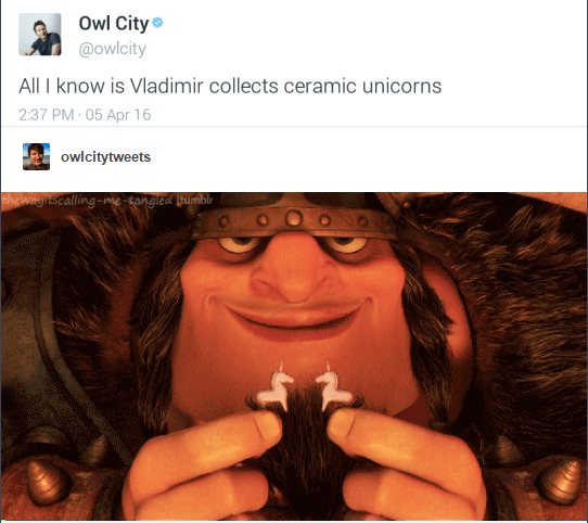 Vladimir Collects Ceramic Unicorns
