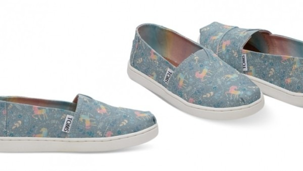 Where To Buy Rainbow Unicorn Toms Shoes