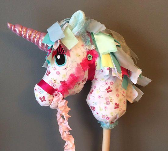 Whimsy Woo Hobby Horse And Unicorn