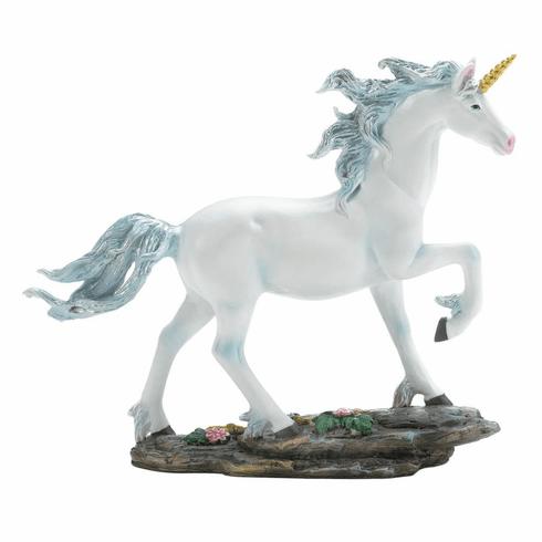 White Unicorn Figurine Wholesale At Koehler Home Decor