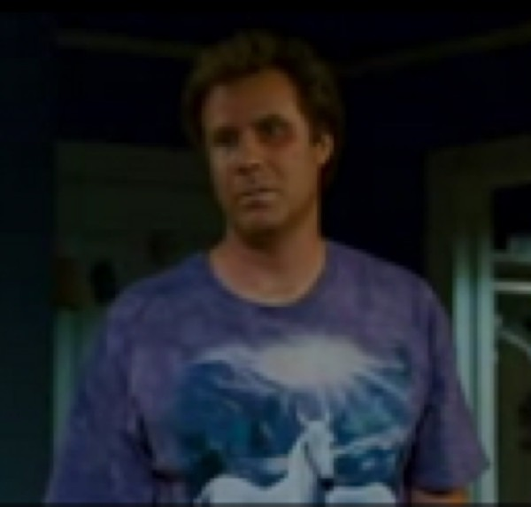 Will Ferrel's Unicorn Shirt In Step Brothers On The Hunt