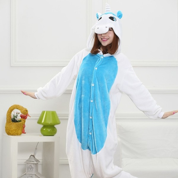 Winter Pijamas Animal Pajamas One Piece Costume Couples Onesie