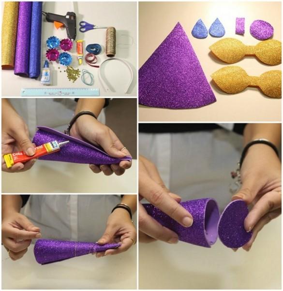 10+ Easy Diy Unicorn Headband Ideas Using Various Materials