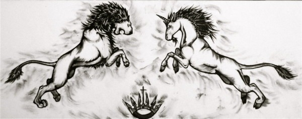 14 Lion Drawing Unicorn For Free Download On Ayoqq Org