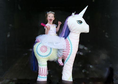 Life Size Stuffed Unicorn