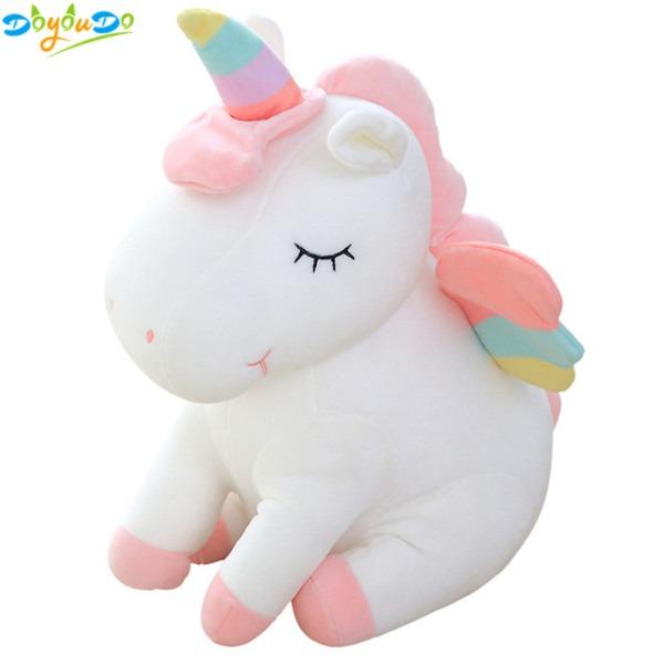 25cm Cute Rainbow Unicorn Plush Toys Lovely Unicorn Stuffed Animal