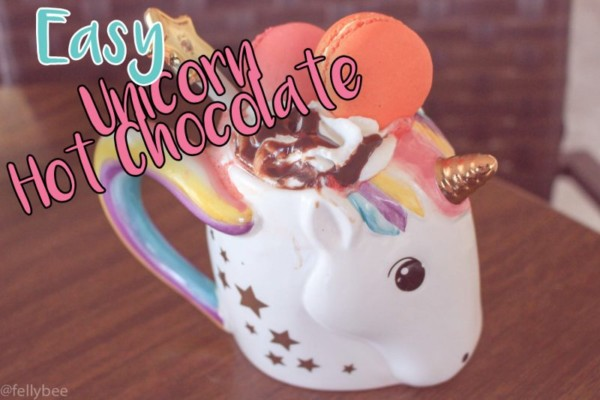 3 Ingredient, Easy Unicorn Hot Chocolate!!!
