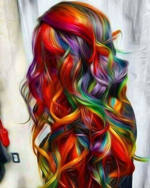 50 Stunningly Styled Unicorn Hair Color Ideas To Stand Out From