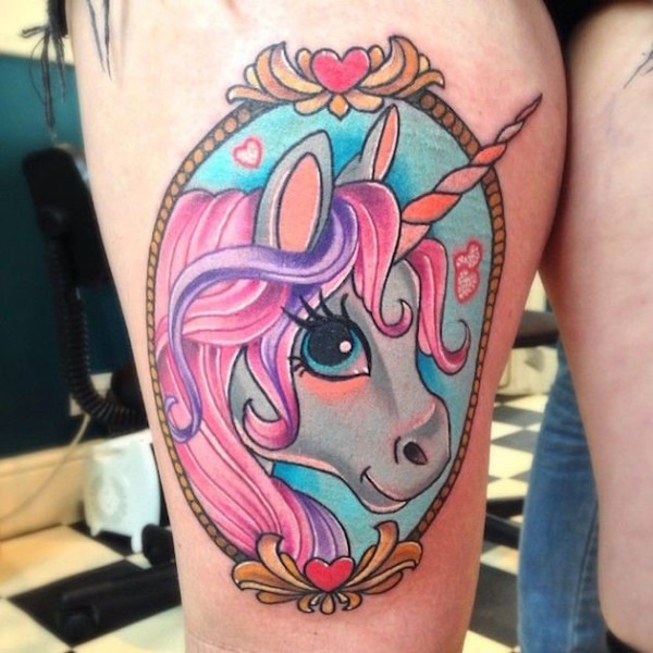 53 Best Unicorn Tattoo Designs For Women