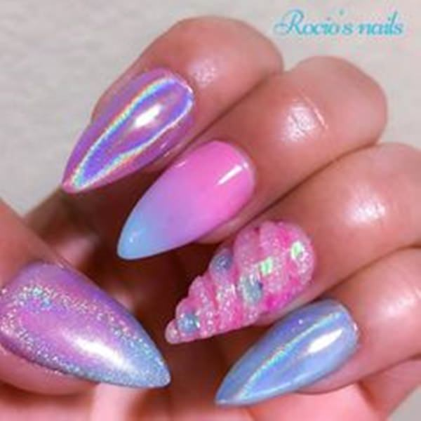 61 Acrylic Nails Designs For Summer 2019