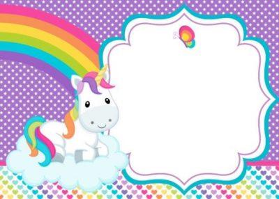 ▷ Amazing 【unicorn Invitations】