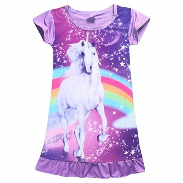 Amazon Com  2bunnies Girls Unicorn Star Rainbow Print Nightgown