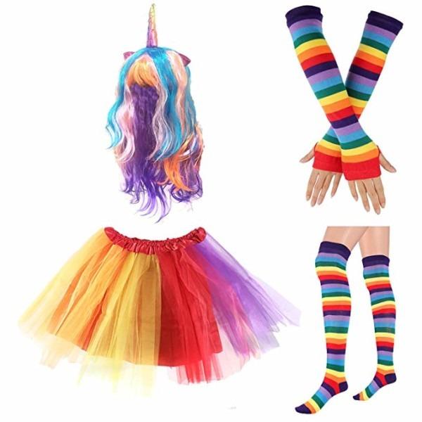 Amazon Com  80s Womens Accessory,tutu Skirt,unicorn Headband