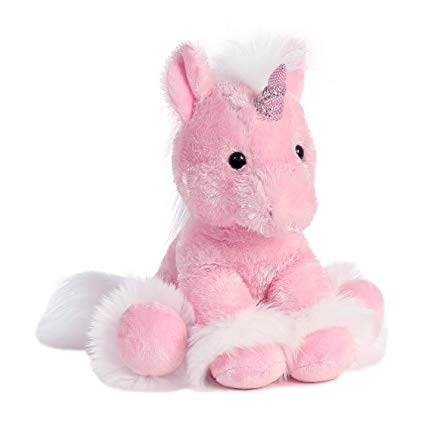 Amazon Com  Aurora 7789 World Dreaming Of You Plush Unicorn, 12
