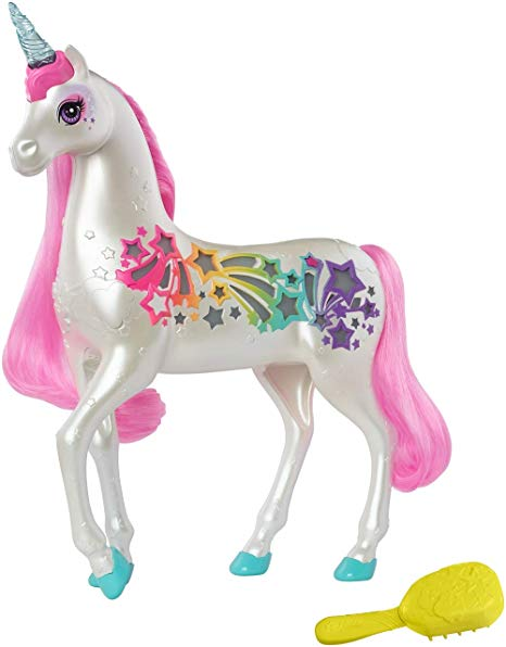 Amazon Com  Barbie Dreamtopia Brush 'n Sparkle Unicorn  Toys & Games