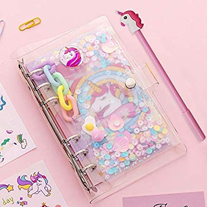 Amazon Com  Diy Unicorn Notebook Kit