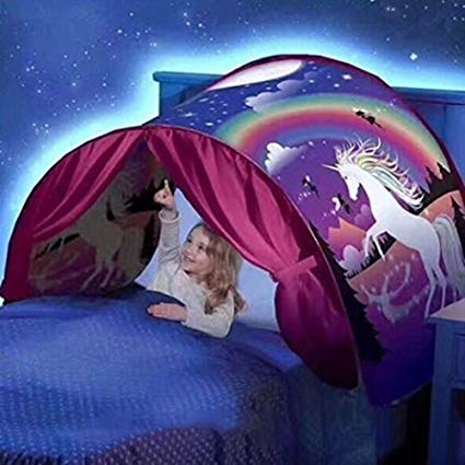Amazon Com  Dream Tents Unicorn Fantasy Foldable Tent Camping