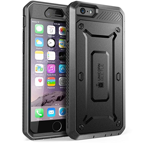 Amazon Com  Iphone 6s Plus Case, Supcase Belt Clip Holster Apple