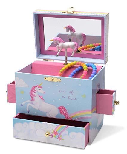 Amazon Com  Jewelkeeper Musical Jewelry Box With 3 Drawers