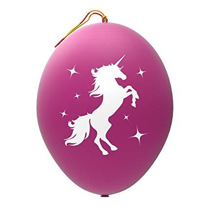 Amazon Com  John & Judy 24 Purple Unicorn Punch Balloons