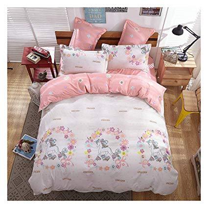 Amazon Com  Kfz Girls Magic Unicorn Bed Set [4pcs Full Size