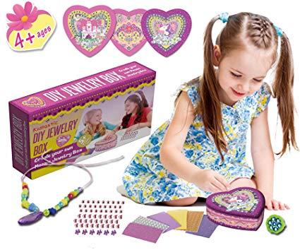 Amazon Com  Kidtastic Diy Jewelry Box For Girls