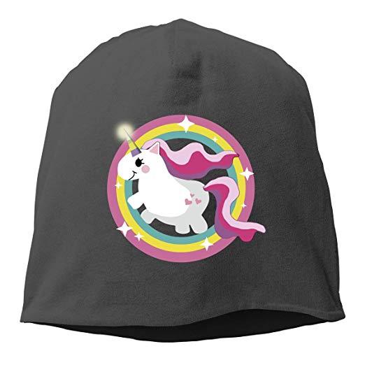Amazon Com  Leap Pink Unicorn Unisex Knitted Beanie Hat Warm