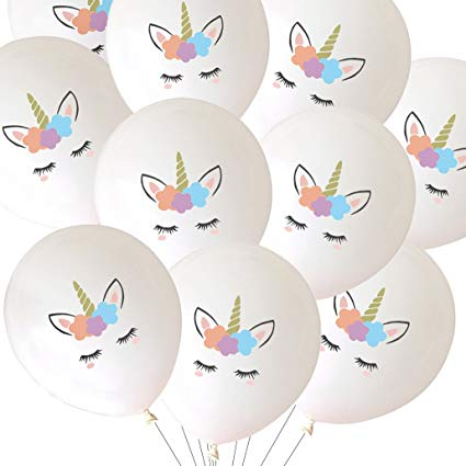 Amazon Com  Luck Collection Unicorn Balloons Party Decorations 30