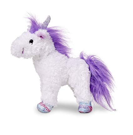 Amazon Com  Melissa & Doug Misty Unicorn Stuffed Animal  Melissa