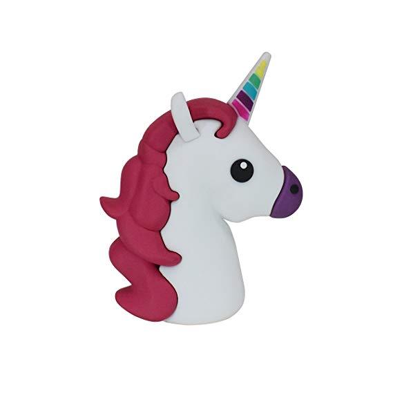 Amazon Com  New 2600mah Unicorn Shaped Emoji Cute Funny Cartoon