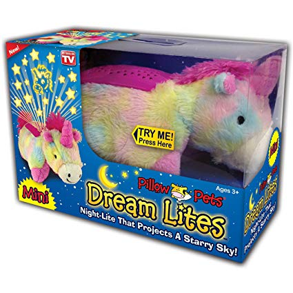 Amazon Com  Pillow Pets Dream Lites Mini