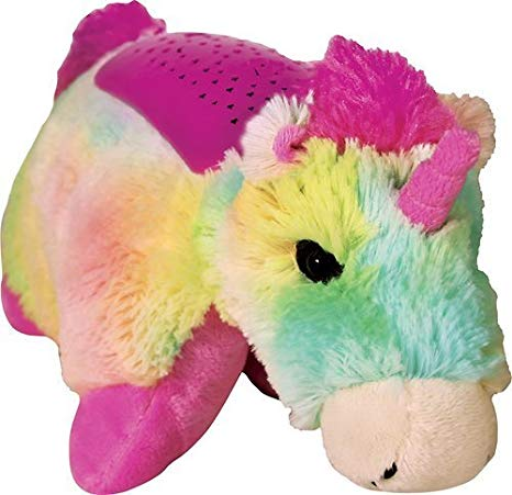 Amazon Com  Pillow Pets Dreamlites Rainbow Unicorn  Toys & Games