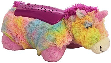 Amazon Com  Pillow Pets Rainbow Unicorn Dream Lites  Toys & Games