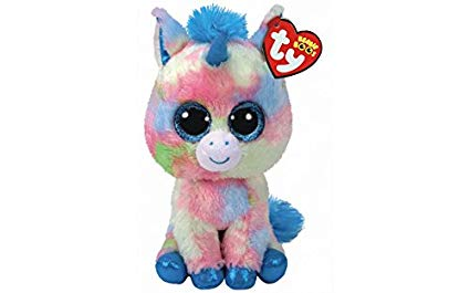 Amazon Com  Ty Beanie Boos 6  Limited Edition Blitz Unicorn