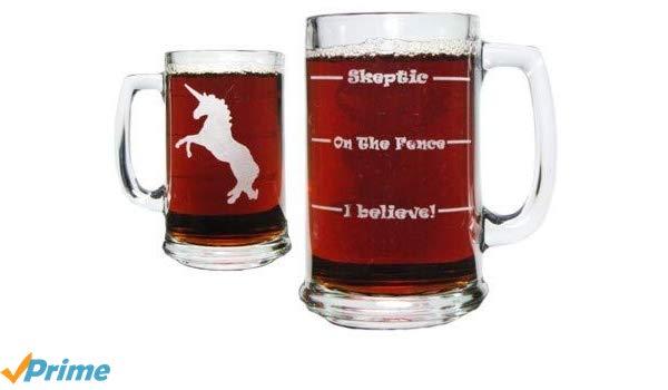 Amazon Com  Unicorn Drink 'till You Believe 15oz  Beer Mug With