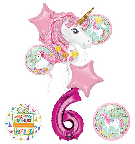 Amazon Com  Unicorn Party Supplies  Believe In Unicorns  6th