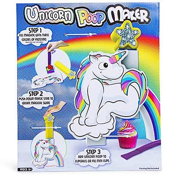 Amazon Com  Unicorn Poop Maker Cupcake Frosting Decorating Machine